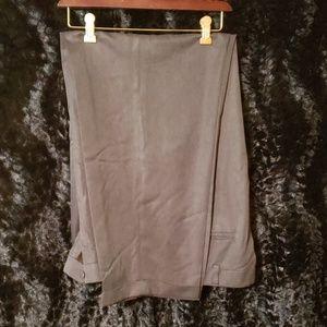Men's dark grey dress pants